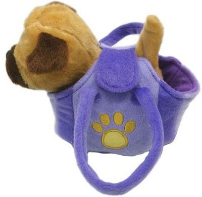 Интерактивный щенок My friends, 17 см, в сумочке