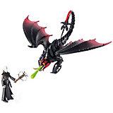 Игровой набор Spin Master Dragons, дракон Смертохват и фигурка викинга