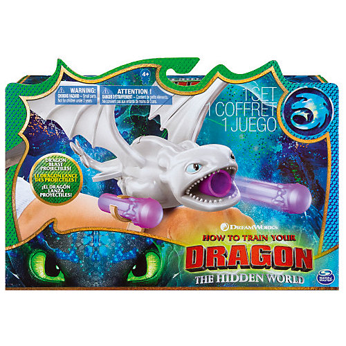 Бластер-браслет Spin Master Dragons Белая Фурия от Spin Master