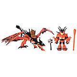 Игрушка Spin Master Dragons «Дракон Кривоклык в пещере», с УФ-подсветкой