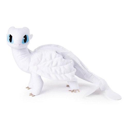 Мягкая игрушка Spin Master Dragons Плюшевая Белая фурия от Spin Master