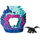 Игрушка Spin Master Dragons «Дракон в пещере»,дракон Беззубик