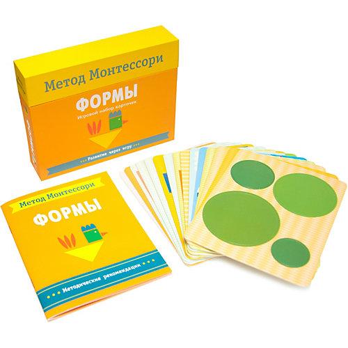 """Игровой набор карточек Мозаика-синтез Метод Монтесcори """"Развитие через игру. Формы"""" от Мозаика-Синтез"""