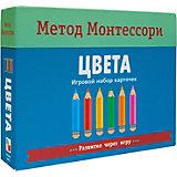 """Игровой набор карточек Мозаика-синтез Метод Монтесcори """"Развитие через игру. Цвета"""""""