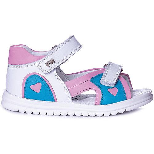 Сандалии Tiflani - розовый/белый от Tiflani