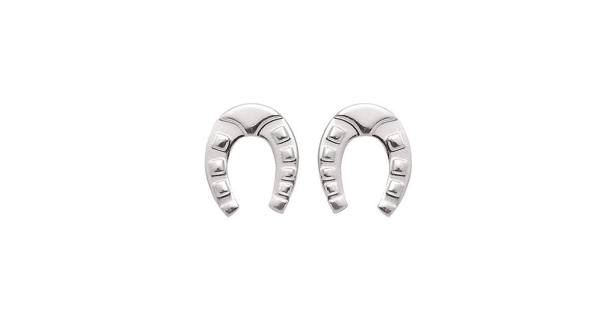 Adelia´s 1 Paar Silber Ohrringe Ohrstecker Hufeisen 925 Sterling Silber Ohrhänger silber | Schmuck > Ohrschmuck & Ohrringe > Ohrstecker | Silber | Adelia's