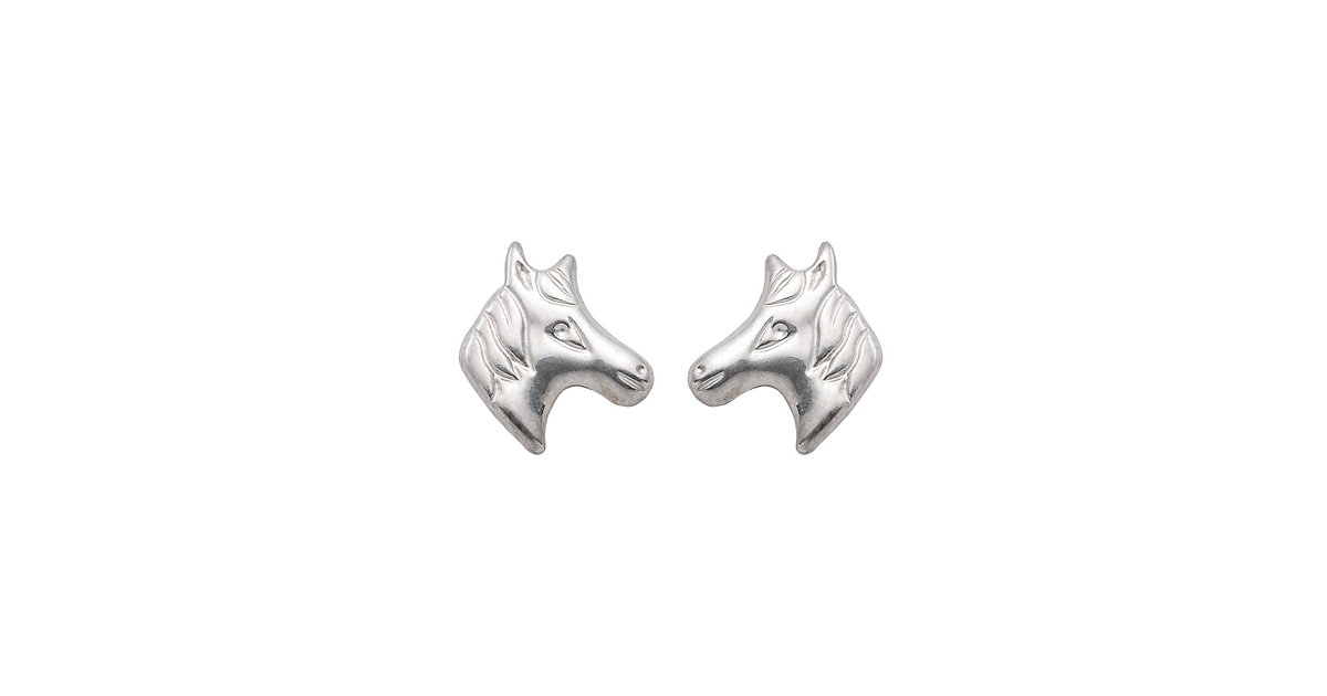 Adelia´s 1 Paar Silber Ohrringe Ohrstecker Pferdekopf 925 Sterling Silber Ohrhänger silber | Schmuck > Ohrschmuck & Ohrringe > Ohrstecker | Silber | Adelia's