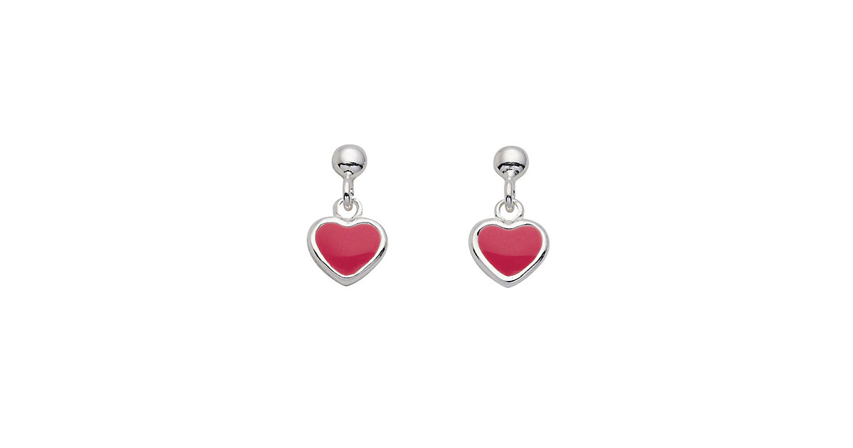 Adelia´s 1 Paar Silber Ohrringe Ohrhänger Herz 925 Sterling Silber Ohrhänger silber | Schmuck > Ohrschmuck & Ohrringe > Ohrstecker | Silber | Adelia's