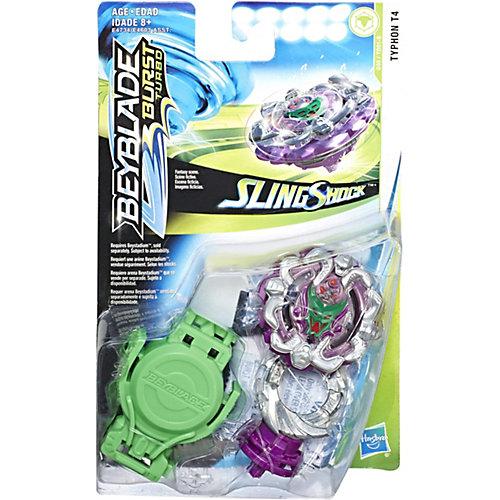 Волчок Beyblade SlingShock Тайфун Т4, с пусковым устройством от Hasbro