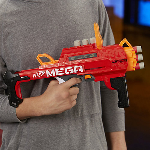 Бластер Nerf Mega Бульдог от Hasbro