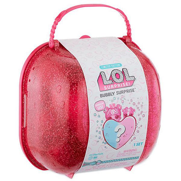 """Игровой набор LOL """"Шипучий сюрприз: кукла и питомец"""", розовый кейс"""