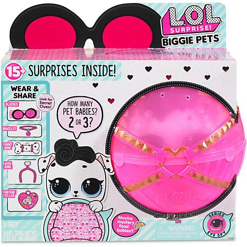"""Игровой набор LOL """"Большой питомец"""", далматинец в розовом шаре от MGA"""