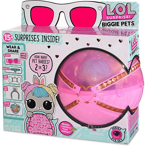 """Игровой набор LOL """"Большой питомец"""", зайчик в розовом шаре от MGA"""