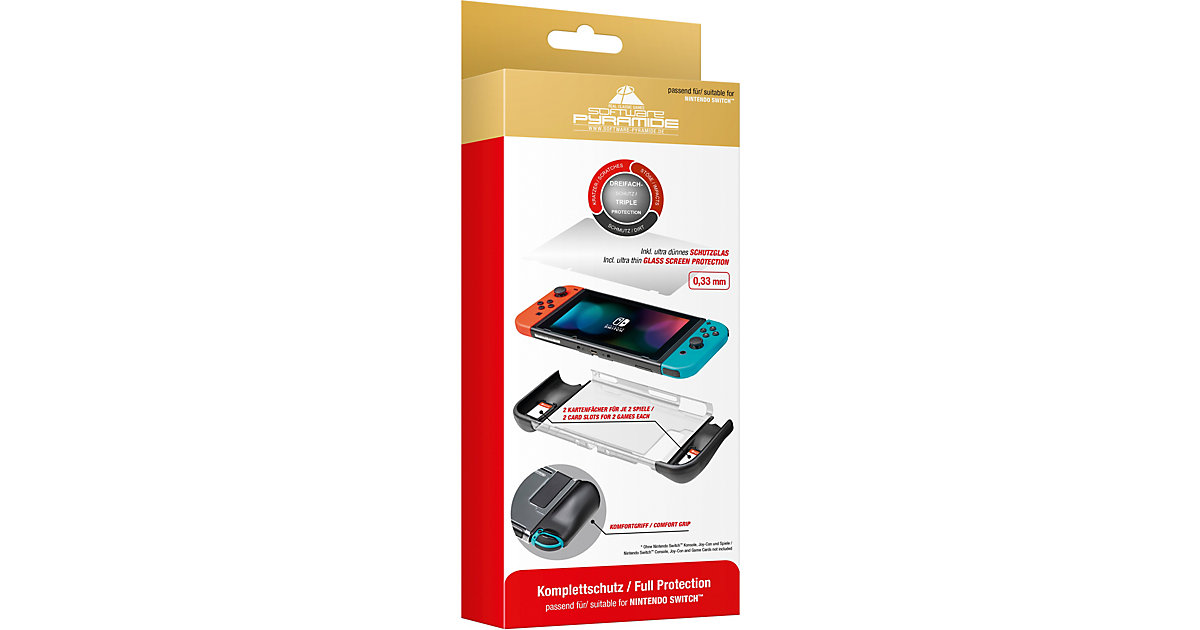 Nintendo Switch Komplettschutz