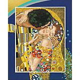 Картина по номерам Schipper Репродукция Поцелуй» Густав Климт, 40х50 см