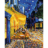 Картина по номерам Schipper Репродукция Ночное кафе Ван Гог, 40х50 см