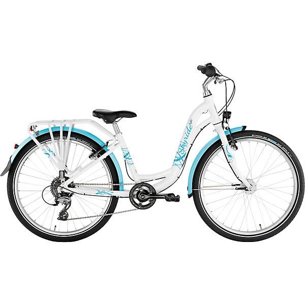 Fahrrad Skyride 24 8 Alu Light Weiss Puky Mytoys