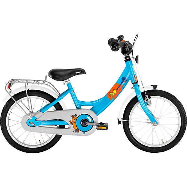 Die Maus Fahrrad Zl 16 1 Alu Blau Die Maus Mytoys