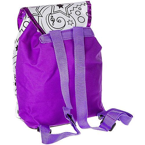 Рюкзак для раскрашивания Bondibon Диско, с пайетками от Bondibon