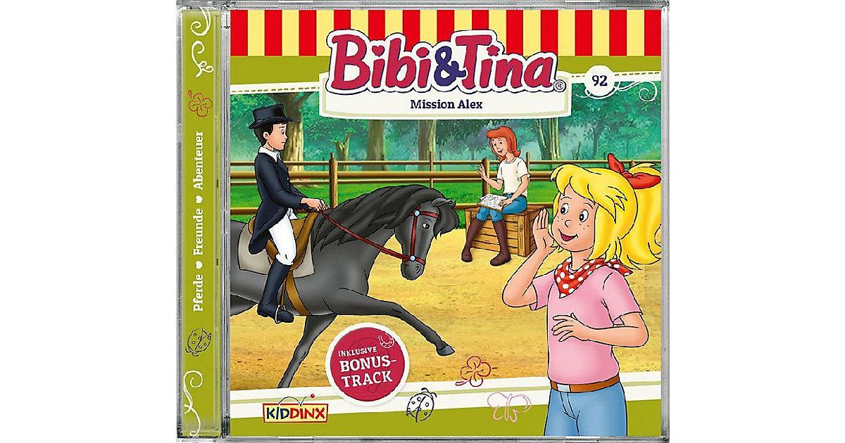 CD Bibi und Tina 92 - Mission Alex Hörbuch