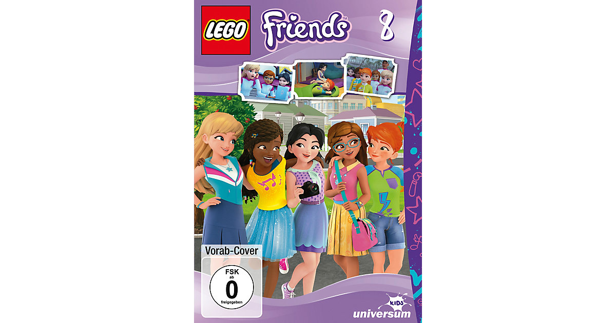 DVD LEGO Friends 8 Hörbuch