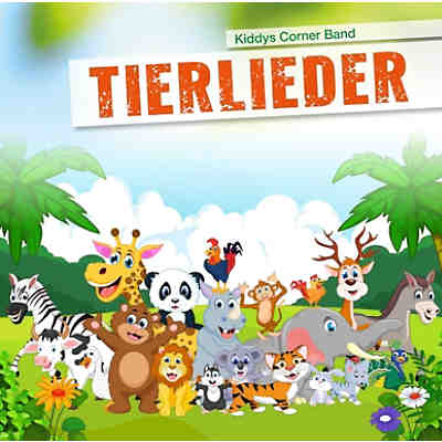 CD Tierlieder (Kiddys Corner Band)