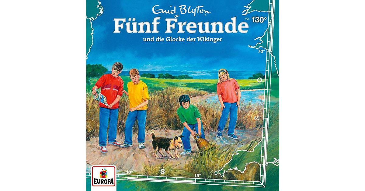 CD Fünf Freunde 130 - und die Glocke der Wikinger Hörbuch