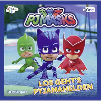 CD PJ Masks - Los gehts Pyjamahelden 1