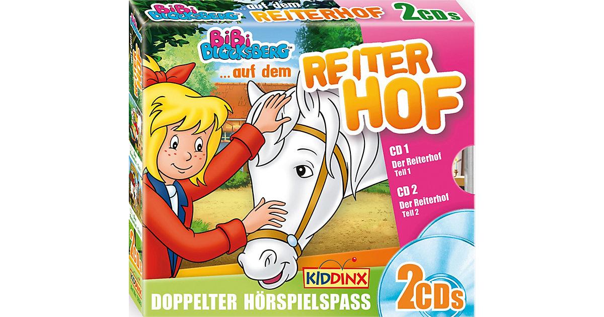 CD Bibi Blocksberg - Bibi auf dem Reiterhof 1,2 (2 CDs, Folge 43,44) Hörbuch