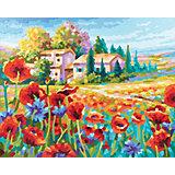 Картина по номерам Schipper Маковое поле, 40х50 см