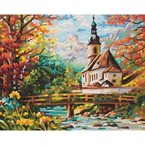 Картина по номерам Schipper Церковь св. Себастьяна в Рамзау, 40х50  см от Schipper