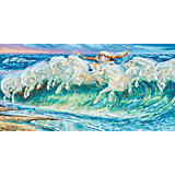 Картина по номерам Schipper Вольтер Крейн «Лошади Нептуна», 40х80 см