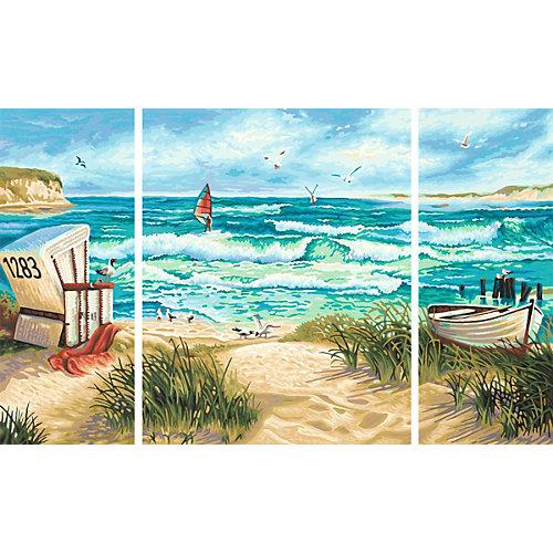 Картина по номерам Schipper Триптих: Летний отпуск, 50х80 см от Schipper