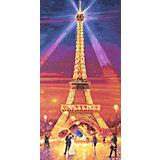 Картина по номерам Schipper Эйфелева башня ночью, 40х80 см