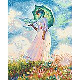 Картина по номерам Schipper Клод Моне «Дама с зонтиком», 40х50 см