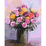 Картина по номерам Schipper Букет роз, 40х50 см
