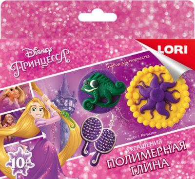 """Полимерная глина LORI Disney Украшения """"Рапунцель"""""""