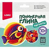 Полимерная глина LORI Магниты «Красочные рыбки»