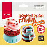 Полимерная глина LORI Брелоки  «Сладкий десерт»