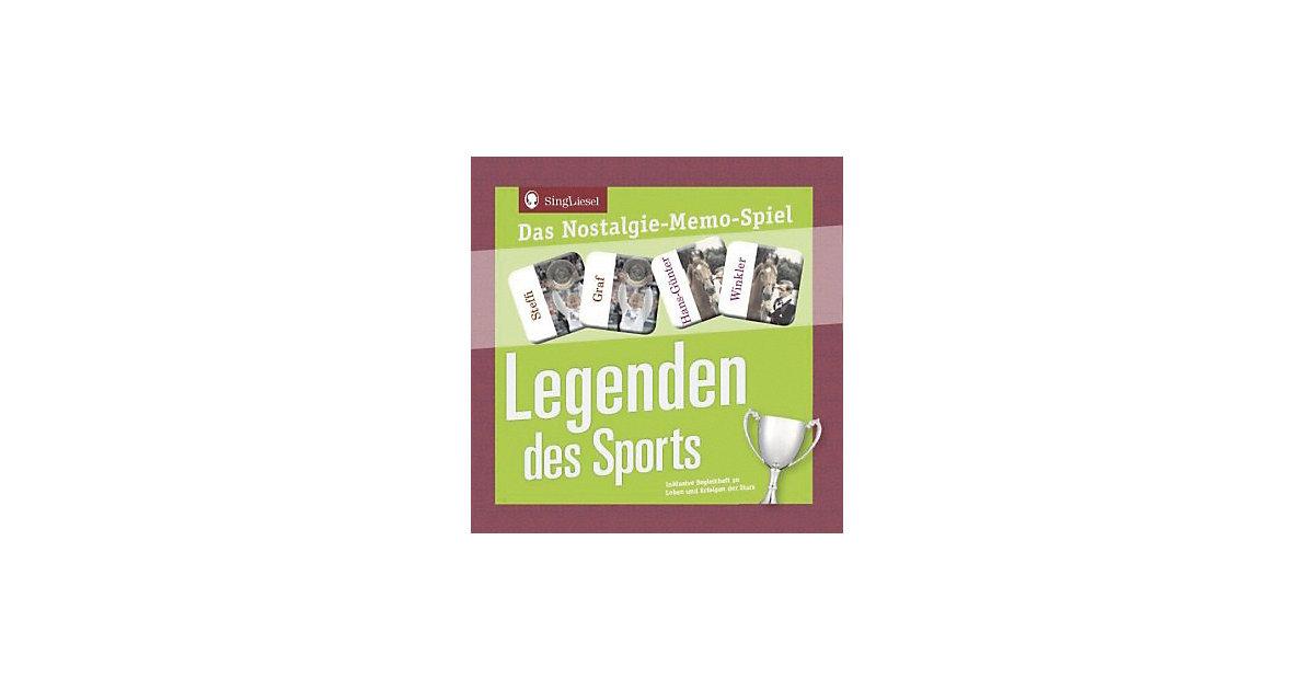 Legenden des Sports - Das Memo-Spiel Senioren (Spiel)  Kinder
