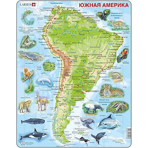 """Пазл Larsen """"Животные Южной Америки"""", 65 деталей от Larsen"""