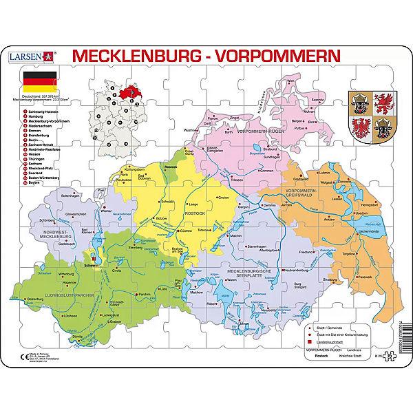 Landkarte Mecklenburg Vorpommern Ostseekuste Buy This Stock