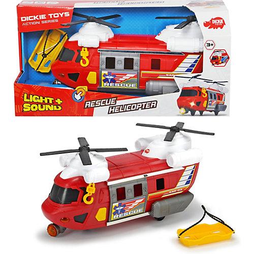 Спасательный вертолет Dickie Toys Action, свет, звук, 30 см от Dickie Toys
