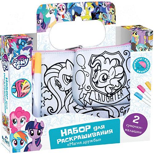 "Набор сумочек для раскрашивания Origami My little pony ""Магия дружбы"" 17х4х17,5 см от Origami"