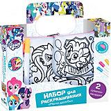 """Набор сумочек для раскрашивания Origami My little pony """"Магия дружбы"""" 17х4х17,5 см"""
