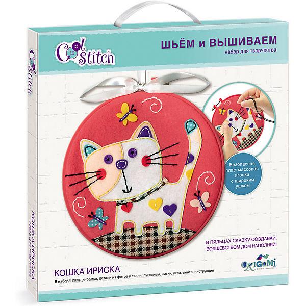 """Набор для шитья и вышивания Origami """"Кошка Ириска"""""""