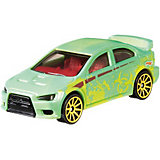 Машинка Hot Wheels Color Shifters, Mitsubishi Lanser Evolution, меняет цвет