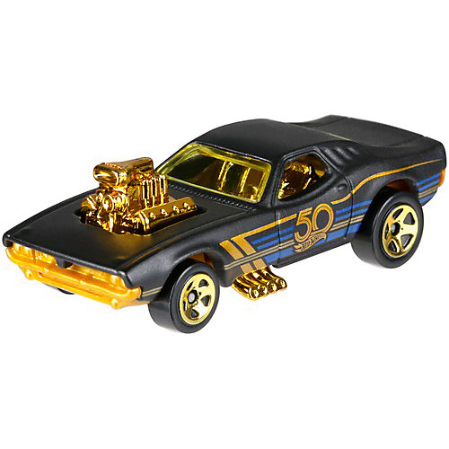 Тематическая юбилейная машинка Hot Wheels, Rodger Dodger от Mattel