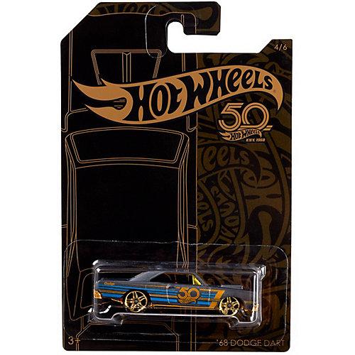 Тематическая юбилейная машинка Hot Wheels, 68 Dodge Dart от Mattel