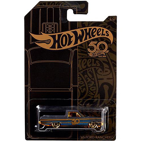 Тематическая юбилейная машинка Hot Wheels, 65 Ford Ranchero от Mattel